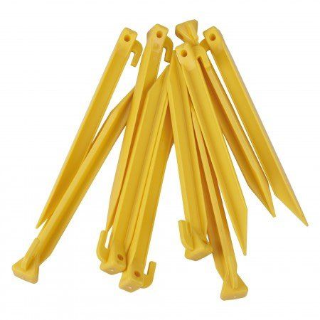 Pack of 10 spare ground pegs.
