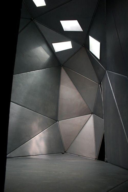 Photo а-ля оригами. В случае острых углов и геометрического дизайна. Хай-тек