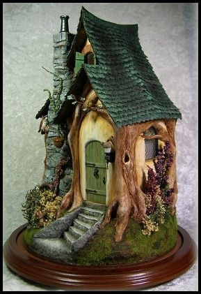 Acorn Wood Cottage 1/2 scale