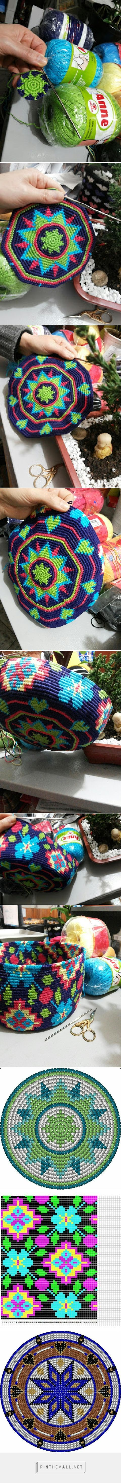 Wayuu Mochila bag bottom