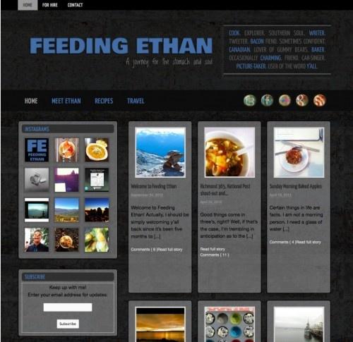 Feeding Ethan   fine lime designs