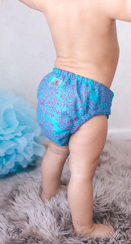 Pupidu Australain Stockist -Take Home Lay-by , Cloth nappy Isabella in Wunderland - snap Kokadi Cloth Nappy