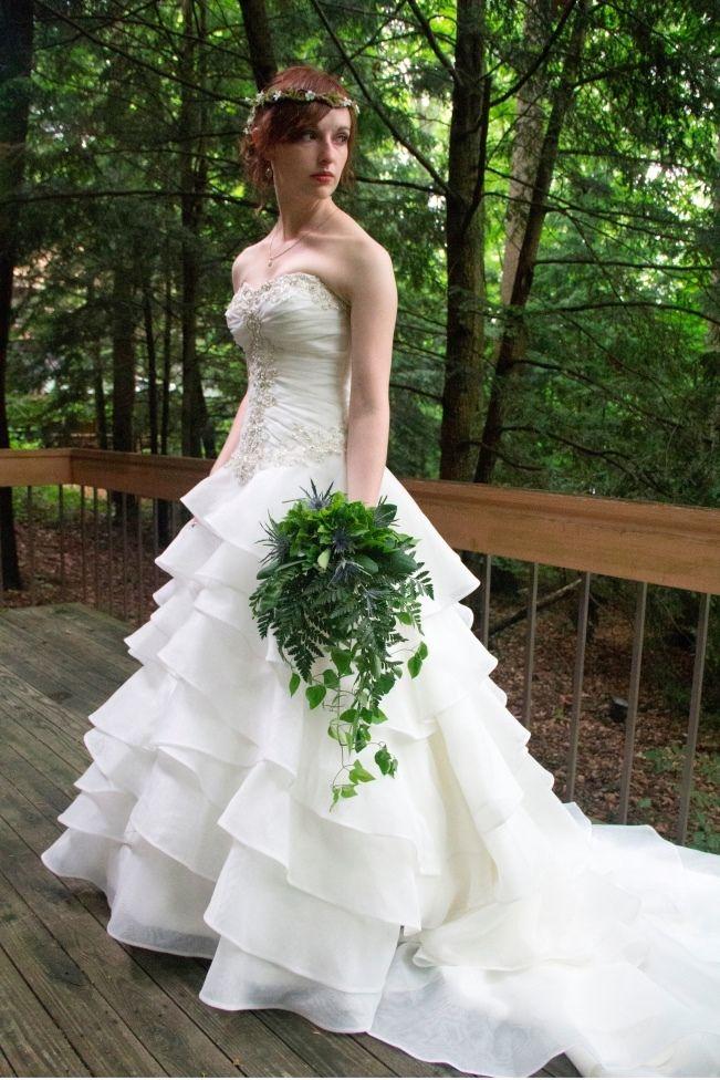 Woodland Wedding at Honey Run {Kelly Doran Photography}