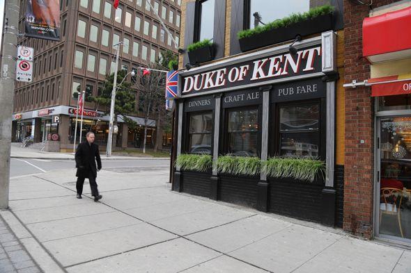 Duke of Kent Toronto #DukeofKent #YongeandEglinton