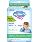Swimmer's ear or ears swimming in pain from a nasty cold or allergies – they can all find reprieve from the pain with Hyland's Ear Drops. They relieve the pain, itch, and congestion associated with ear aches. There's no alcohol and no sting, They've also been clinically shown to reduce earache symptoms during the first 48 hours of the episode. Ear now – gone tomorrow! Click here for more information on earaches and when you should consult a physician.
