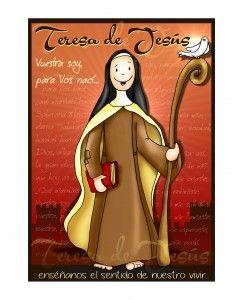 Oración para el V Centenario del Nacimiento de santa Teresa de Jesús