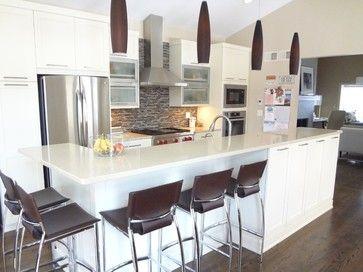 Kitchen Island Knee Space