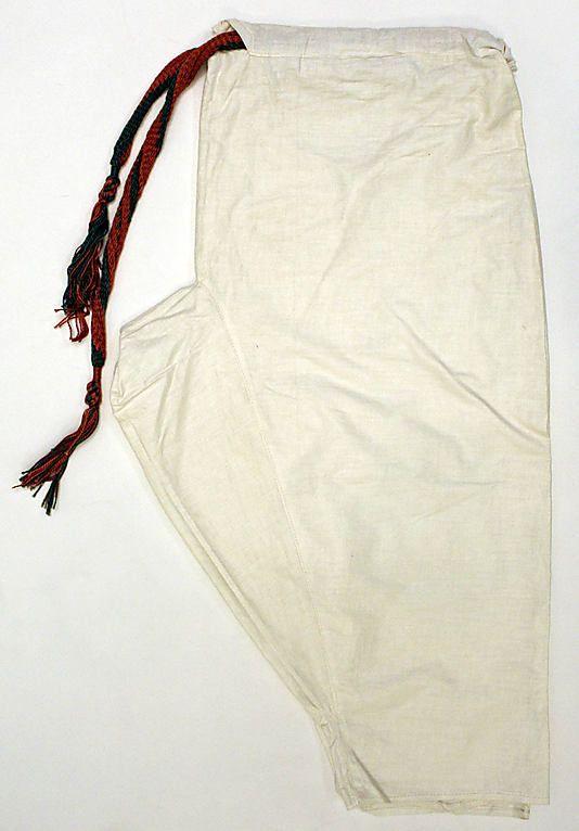Trousers 1800 1941 algerian