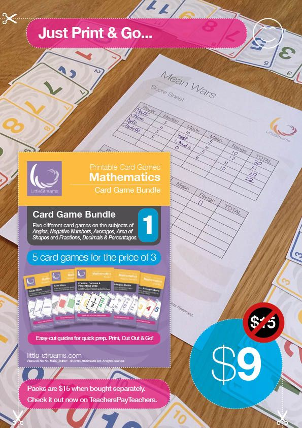 5 Card Games for the Price of 3 The pack contains the following games: • Factors Frenzy | Card Game for learning Factors & Multiples • Number Bonds and Sums | Competitive Card Game for Addition and Number Bonds • Addition Battle | Card Game to build skills in addition and number bonds • Subtraction Battle | Card game to build skills in subtraction and number bonds • Times Tables | Card Game for Times Tables and Multiples