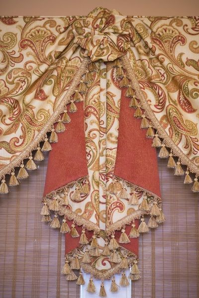 Combination Window Treatments Gallery -                            Sew Stylish Designs LLC                                         Custom Drapery, Design and  Fabrication