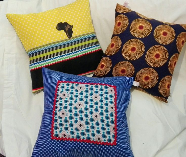 African inspired scatter cushions
