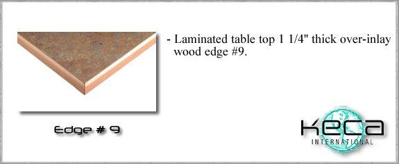 Table top EDGE 9