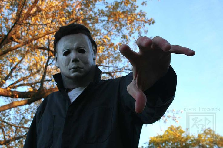 Me going as the original Michael Myers from the classic 1978 Halloween. This is a $600 screen accurate mask . By: Kevin P. (KJP Photography)