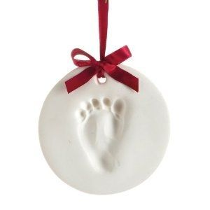 Babies First Christmas Ornament -- DIY