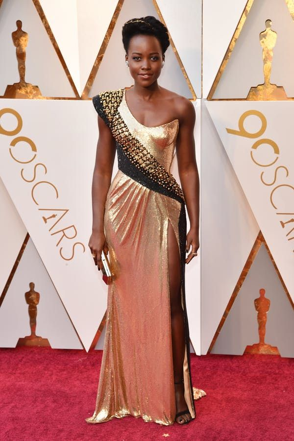 Lupita Oscars. All the Best Red Carpet Looks from the 2018 Oscars #purewow #fashion #celebrity #celebrity style #oscars #red #trends #news