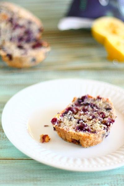 buttermilk blueberry lemon bread