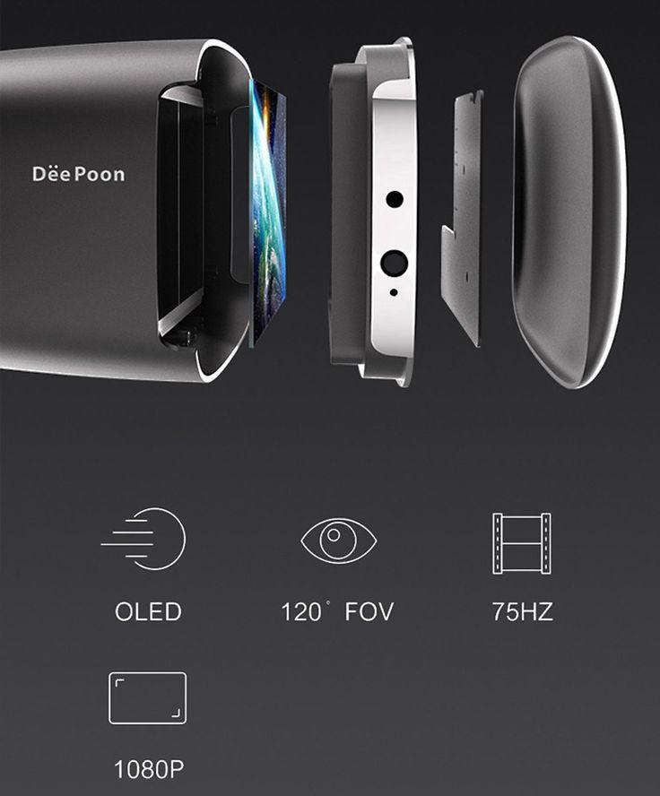 Deepoon E2 3D Virtual Reality Virglass