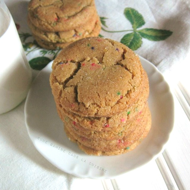 Brown Butter, Funfetti Snickerdoodles from @Valerie » une gamine: Sweet Lovin, Cookies Monsters, The Kitchen, Mmmm Sweet, Sweet Treats, Butter Funfetti, Brown Butter, Foodies Finding, Funfetti Snickerdoodles