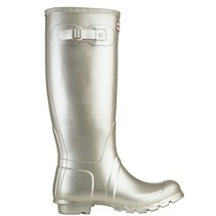 Hunter Original Tall Metallic Wellies $145.00. These are the perfect boots for rain and snow (as long as you buy the wellie socks)!