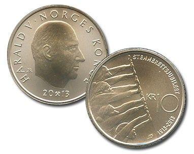 Τον Ιούνιο του 1903 καθιερώθηκε στη Νορβηγία το καθολικό δικαίωμα ψήφου και οι γυναίκες απέκτησαν ίσα πολιτικά δικαιώματα με τους άνδρες. Το 2013 η Τράπεζα της Νορβηγίας αποφάσισε να εκδώσει την Ημ...