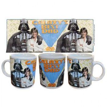 Galaxy's best dad - taza ceramica - star wars - 9,95€