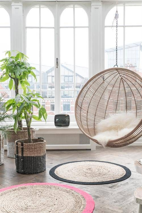 Hangstoel Bal   Naturel   Rotan   HK Living. Swing ChairsHanging ...
