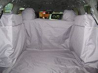 Чехол багажника Standart для автомобилей Toyota LC200 7 мест (04.2012-2013) цвет чёрный TP-LC200-ST-BL