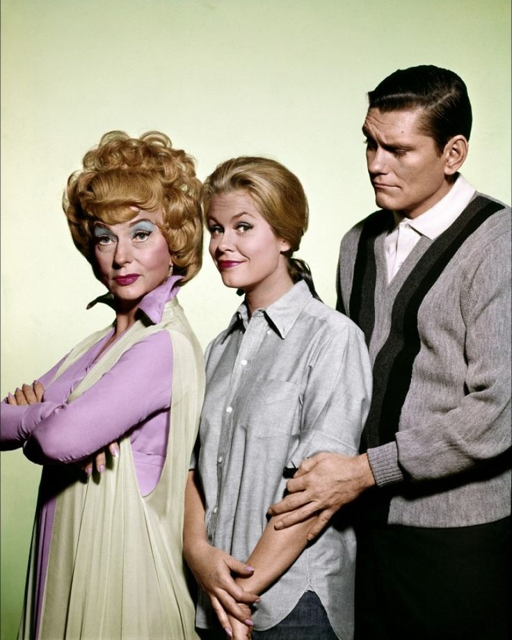 Bewitched, starring the beautiful Elizabeth Montgomery.