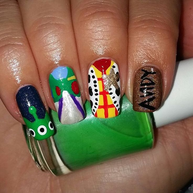My Top 10 And Top 5 Nail Artists Who: 25+ Best Ideas About Toy Story Nails On Pinterest