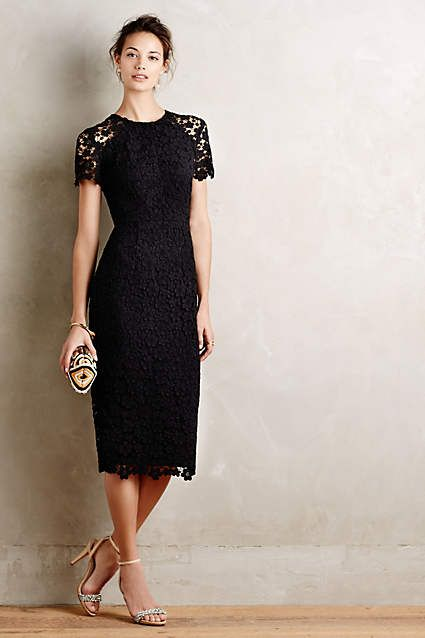 Vanda Lace Sheath - anthropologie.com