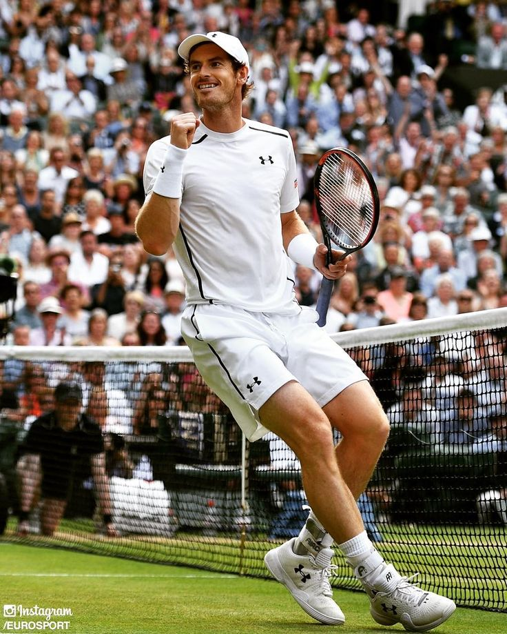 @AndyMurray beat Tomas Berdych in straight sets and will now face @MRaonic in the @Wimbledon final on Sunday!  #Eurosport #Tennis #HomeOfTennis #Wimbledon #London #England #UK #UnitedKingdom #Europe #Serve #Murray #Andy #AndyMurray #GB #TeamGB #GreatBritain #British #Britain #Scotland #SemiFinal #ATP #Final #Champion #MilosRaonic #Raonic