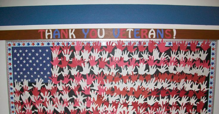 We wanted to create a bulletin board to honor veterans and have it displayed for those to see that came to watch our Veteran's Day program. ...