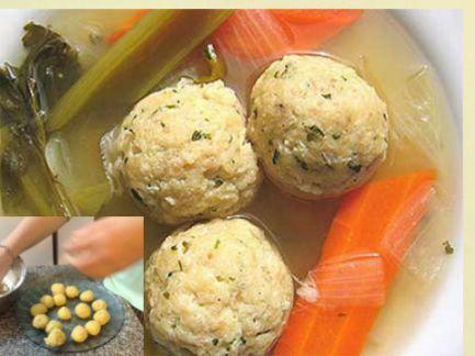 Un plato clásico de la cocina judía, para la mesa de Pésaj.