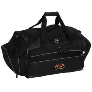 Custom embroidery gives your team logo a timeless look! Gym BagsTeam ...