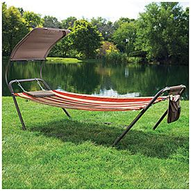 Wilson  Fisher® Freestanding Hammock with Canopy at Big Lots.