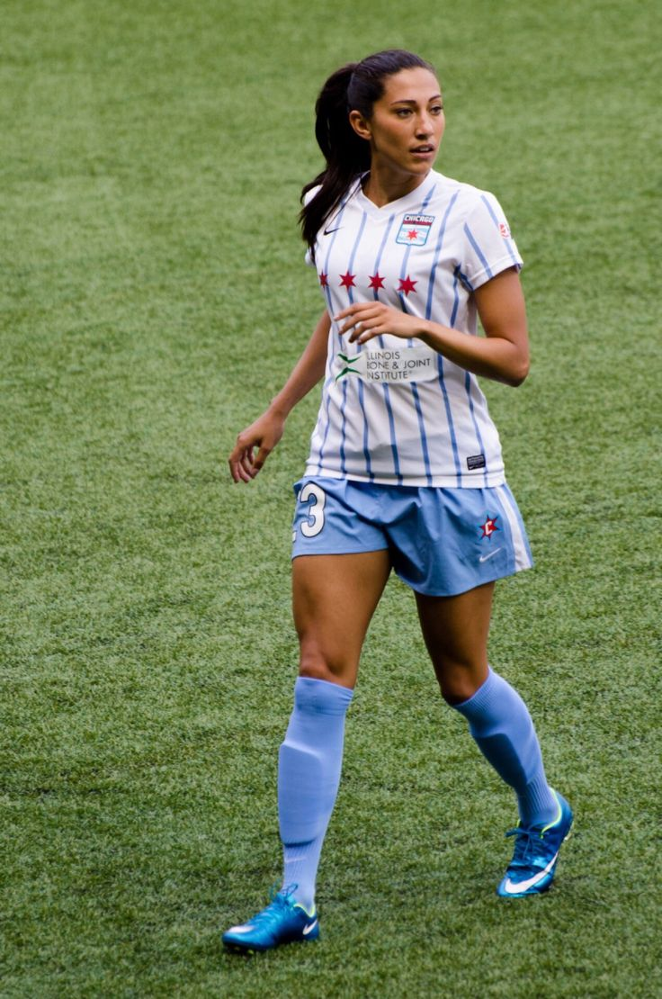 Christen Press | Women's Soccer | Football girls, Soccer ...
