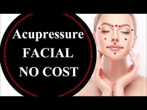 Acupressure for face glow| Acupressure points to look ...