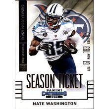 2014 Panini Contenders #95 Nate Washington Team: Tennessee Titans