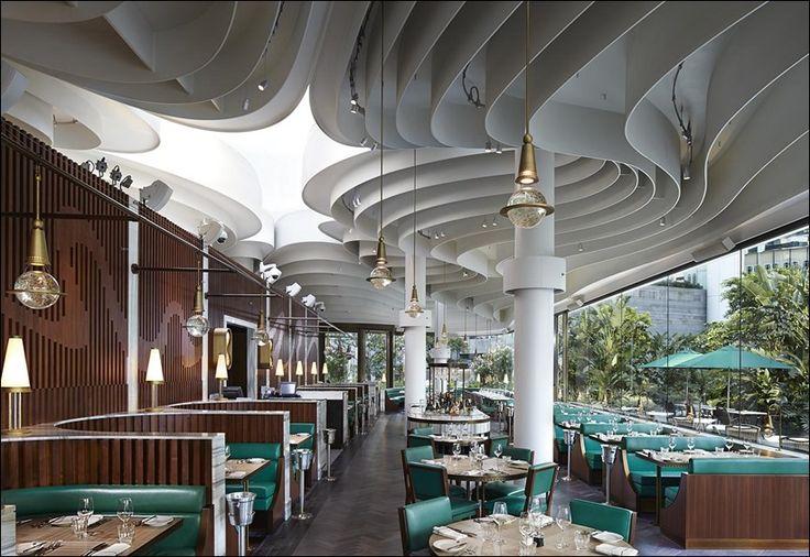 Блестящий ресторан Continental