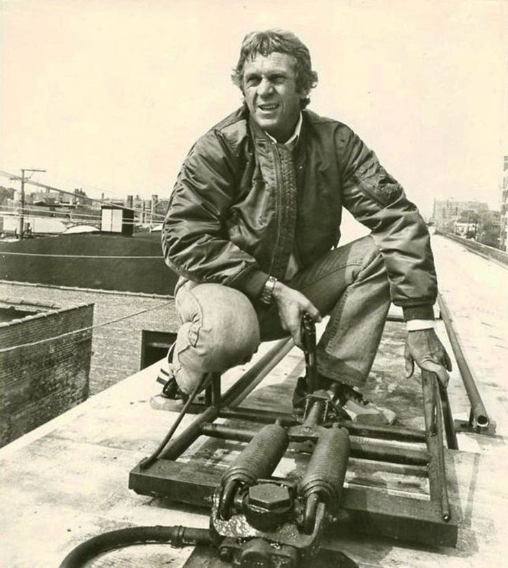 steve mcqueen as papa thorson in the hunter 1980 his last movie favorites 4 4. Black Bedroom Furniture Sets. Home Design Ideas