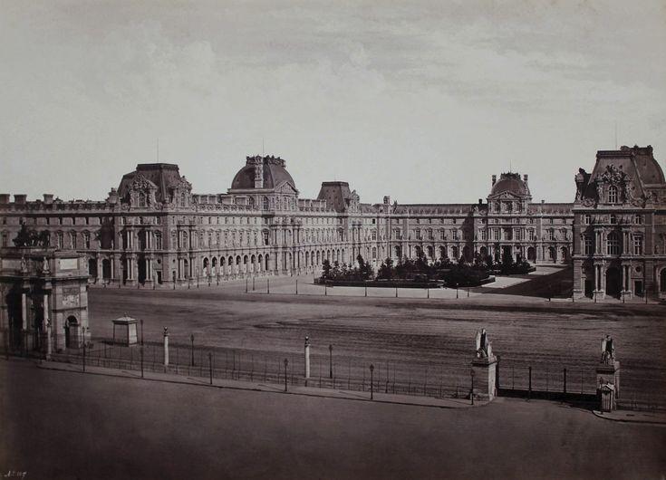 Art From the Louvre | Edouard Baldus. 'Le Nouveau Louvre' c. 1857