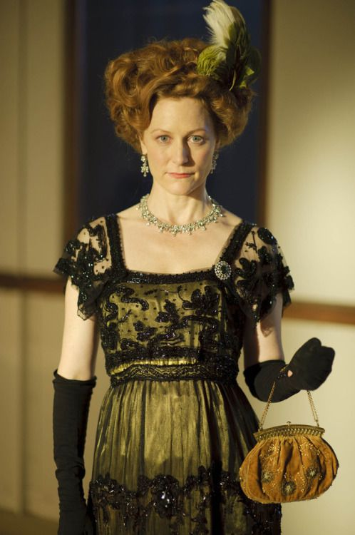 Geraldine Somerville as Louisa, Countess of Manton in Titanic (TV Mini-Series, 2012).