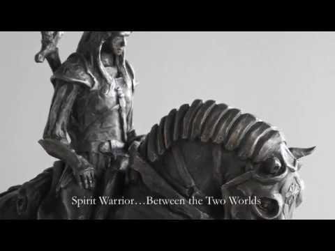 The Legend Art Collection: Spirit Warrior Between the Two Worlds by Kind...