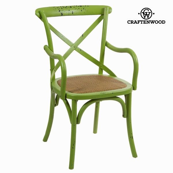 El mejor precio en Hogar 2017 en tu tienda favorita https://www.compraencasa.eu/es/mesas-sillas/66725-silla-con-brazos-madera-verde-by-craftenwood.html