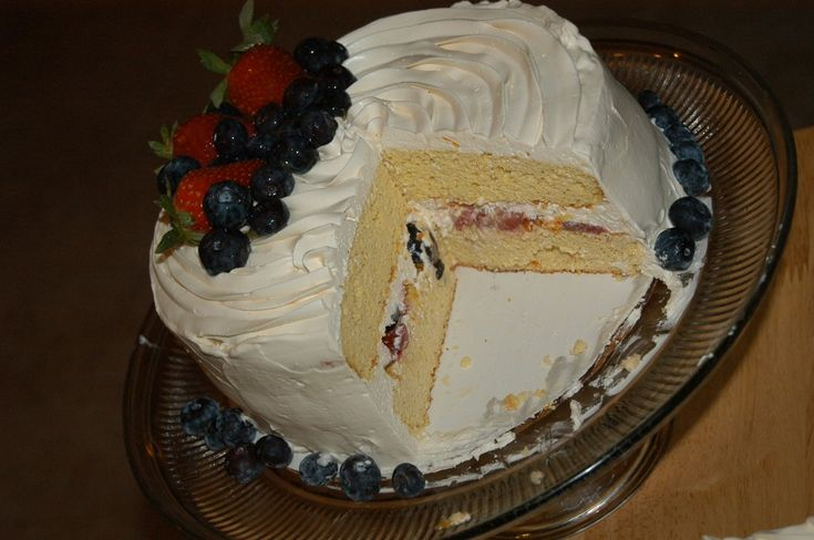 Very Berry Chantilly Cake (Adult Birthday Cake) - Satisfying Eats