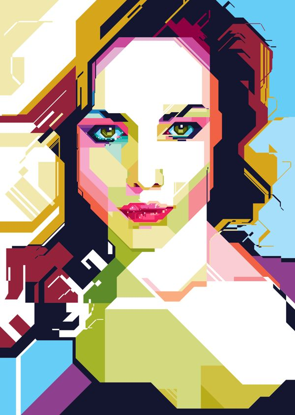 WPAP on Behance #art #illustration #digitalart