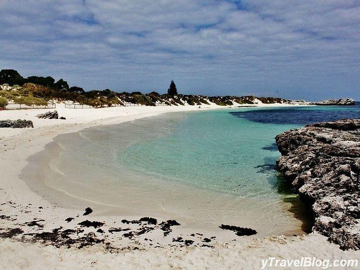 Pinky Beach, Rottnest Island, Western Australia - amazing beach on an incredible island and a #hooroo #SecretSpots in Australia