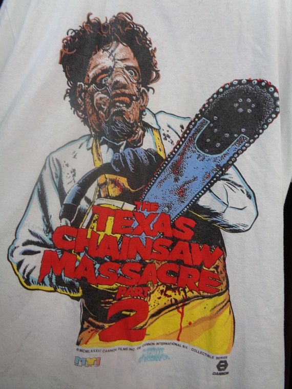 68873a55cb2 Texas Chainsaw Massacre 2LEATHERFACE Vintage