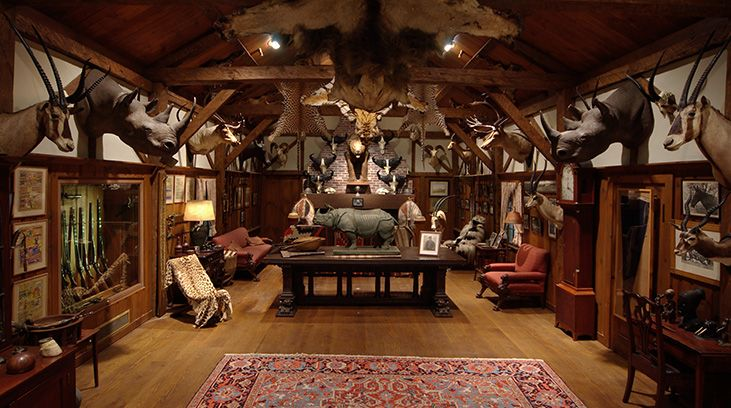 I want my own Man Cave like trophy room with taxidermies in my own hunting lodge when I can live on my own.