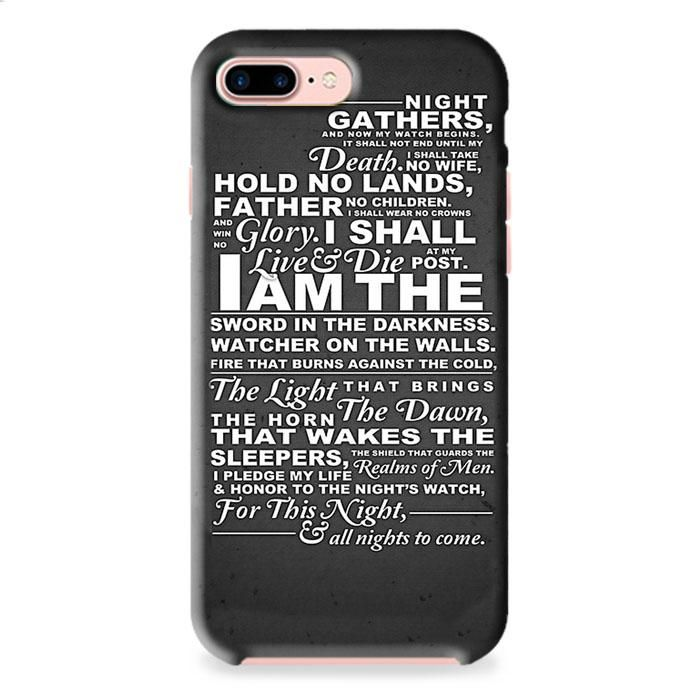 The Nights Watch Oath iPhone 7 3D Case Dewantary